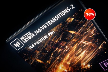 New! SkyBox 360/VR Transitions 2 | Premiere Pro