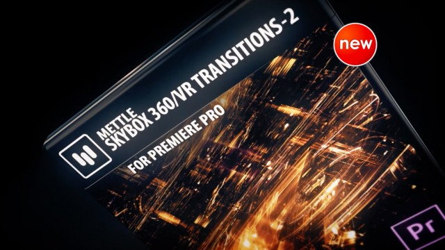 New! SkyBox 360/VR Transitions 2   Premiere Pro