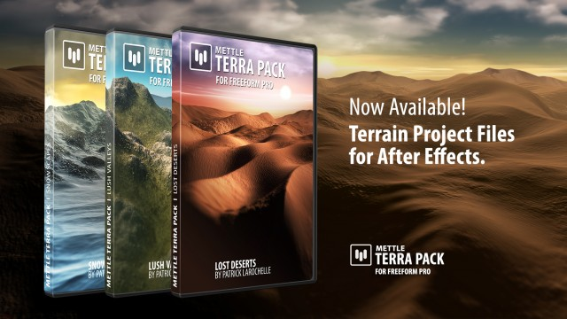 Terra Packs Now Available!