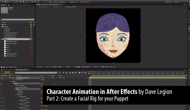 Part 2: Character Animation in After Effects. By Dave Legion.