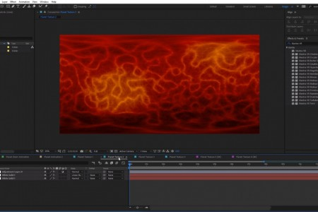 Free Project File | Planet Textures | After Effects | Mantra VR