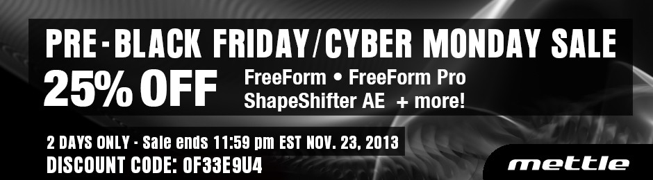 BLACK FRIDAY CYBER MONDAY 25% OFF SALE