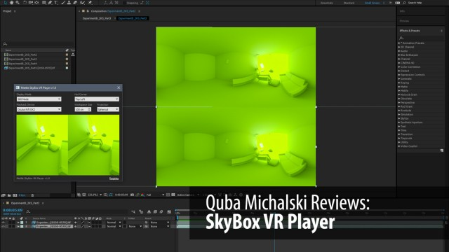 Review | SkyBox VR Player | Authoring VR Just Got Easier