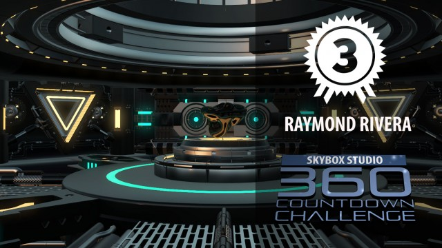 3rd Prize | Raymond Rivera | SkyBox Studio 360 CountDown Challenge