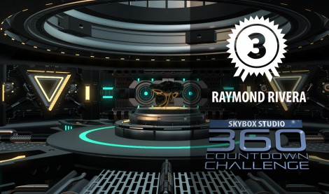 Mech Room 360   SkyBox 360 Countdown   3rd Prize