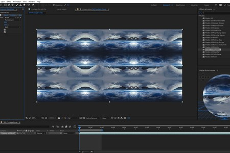Create Seamless Dynamic Patterns in 360/VR   Mantra VR > Repeater Effect