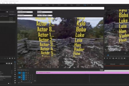 How to Add Closing Credits to a 360° Movie   Premiere Pro   SkyBox 360/VR Tools
