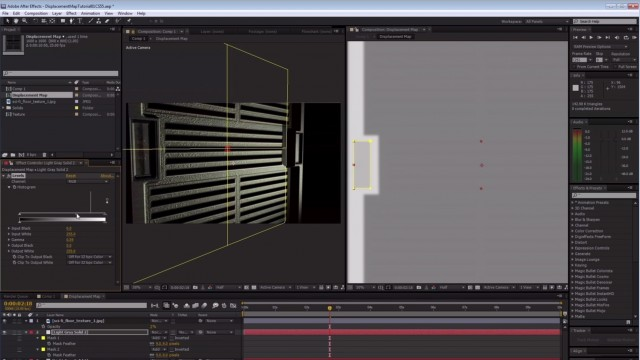 Create a 3D Sci-Fi Panel in After Effects