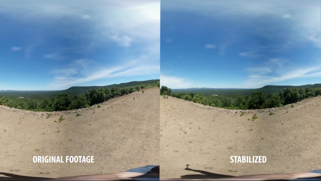 360 Footage for 360° Stabilisation Tutorial | Free Download | Mettle