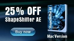 Buy ShapeShifter AE Mac