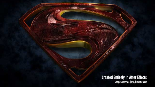3D Morphing Superman Logo: tutorial by Maltaannon