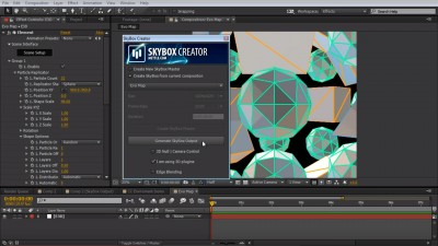 How to Create an 8K Environment Map in After Effects | SkyBox | Mettle