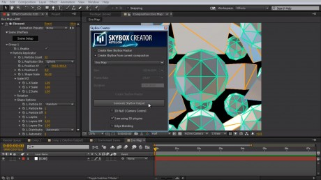How to Create an 8K Environment Map in After Effects | SkyBox Studio