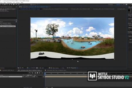 How to Remove a Camera Rig from 360 Footage in After Effects | SkyBox Studio V2 | Jamie Pence
