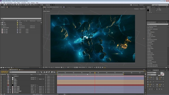 How To Make a 360° Video from a 3D After Effects Project File | SkyBox Studio V2