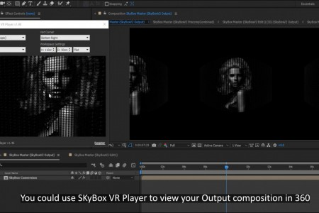 How to Make a 360° Video from a 2D Photo | FreeForm Pro | SkyBox Studio V2 | After Effects