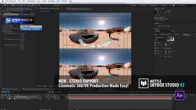 SNEAK PEEK 5 | SkyBox Studio Version 2 | Stereo 360 Support