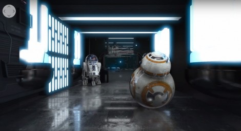 360° STAR WARS Animated Short 4K   After Effects + E3D + SkyBox Studio