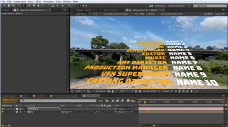 How to Add Credits to a 360° Video in After Effects