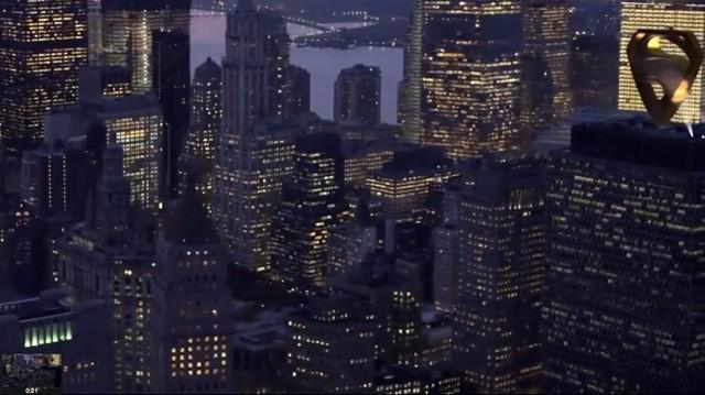 Superman Logo in New York