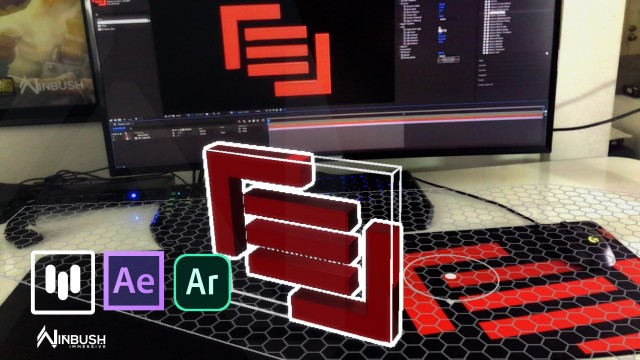 How to Bring Your 2D Logo into 3D for AR   After Effects   Mettle Mantra V2   Aero