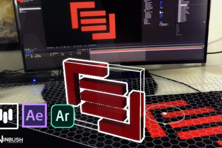 How to Bring Your 2D Logo into 3D for AR | After Effects | Mettle Mantra V2 | Aero
