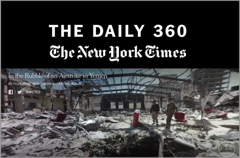 In the Rubble of an Airstrike in Yemen   The Daily 360   The New York Times
