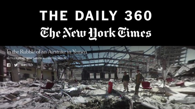 "The New York Times Introduces ""The Daily 360"""