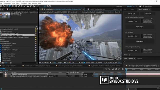 Tutorial: Create Hollywood-Style FX in 360 VR Production   Tim Montijo   SkyBox Studio V2