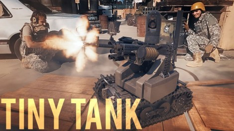 Tiny Tank (VR video!)
