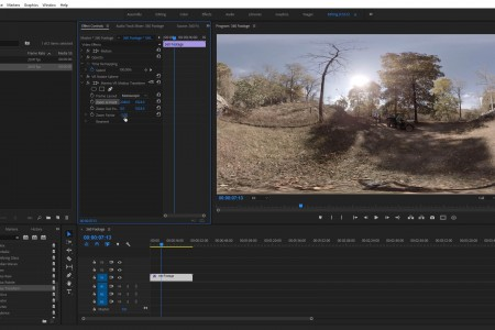 How to add a 360° Virtual Dolly in Post | Premiere Pro | Mantra VR
