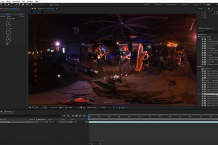 How to add a 360° Virtual Dolly in Post   After Effects   Mantra VR