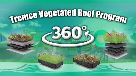 Tremco Vegetated Roof Program   360 Video