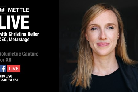Mettle Live with Christina Heller: Volumetric Capture for XR