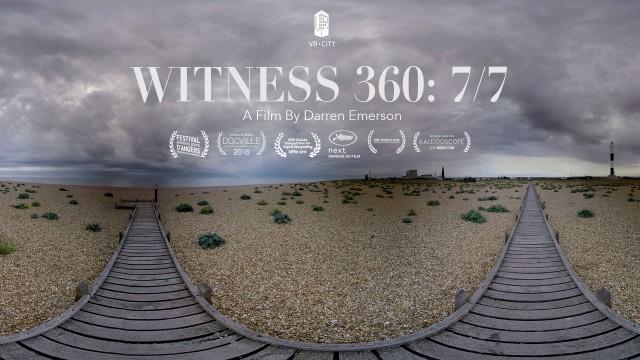 Witness 360: 7/7   VR Documentary