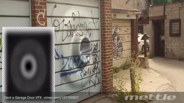 How To Dent a Garage Door VFX