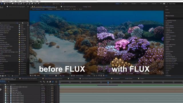 Timeline: 360° Underwater Coral Garden | After Effects | FLUX