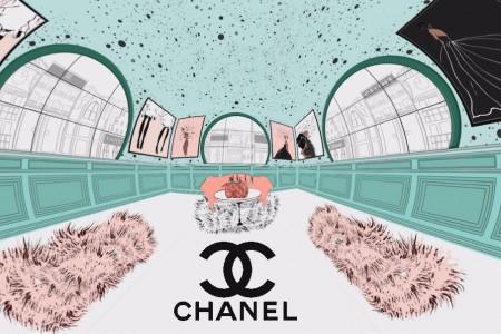 360/VR Chanel Makeup Bag | PhotoShop | After Effects | SkyBox Studio