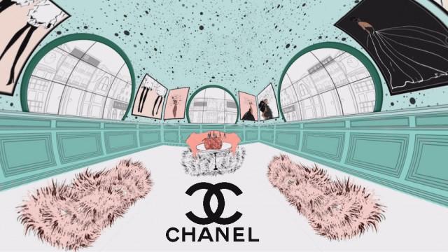 360/VR Chanel Makeup Bag   PhotoShop   After Effects   SkyBox Studio