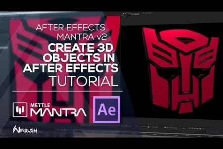 Sneak Peek: Mantra 2.0 | Create 3D Logo from 2D PSD | Export in AR Formats