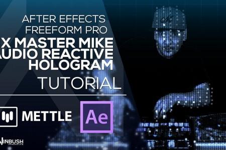 Audio Reactive Hologram with Mix Master Mike & Freeform Pro