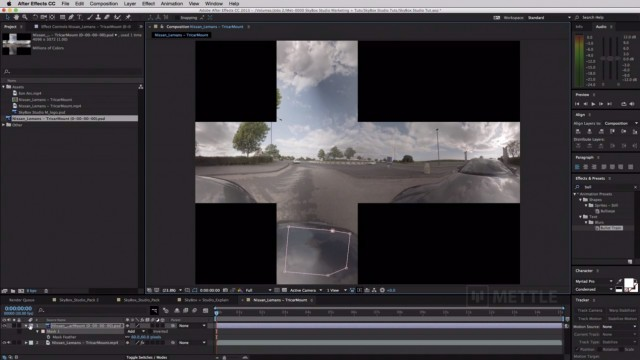 How to Remove a Camera Rig from 360 Footage   SkyBox Studio