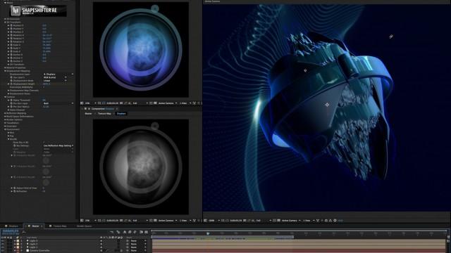 Process Video: Plasmic Island   ShapeShifter AE