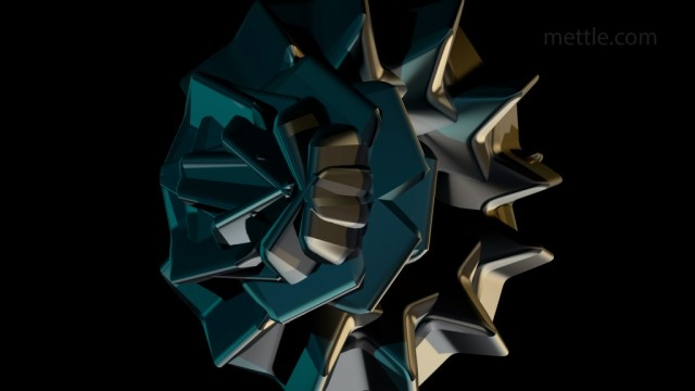Audio Reactive 3D Shape Morphing Sequence | ShapeShifter AE