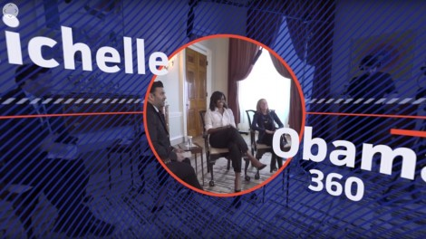 Michelle Obama 360   SkyBox Studio
